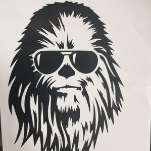 Cool chewy decal